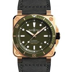 BR 03-92 Diver Green Bronze...